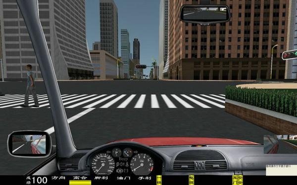 kh-1003三屏幕超豪华汽车驾驶模拟器